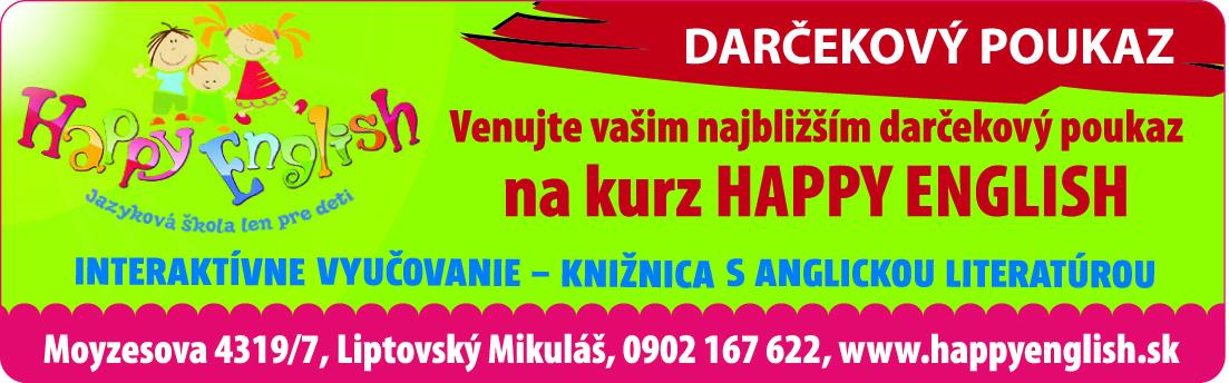 LI14-49 ALMIZA_Happy english_darcekPoukazka